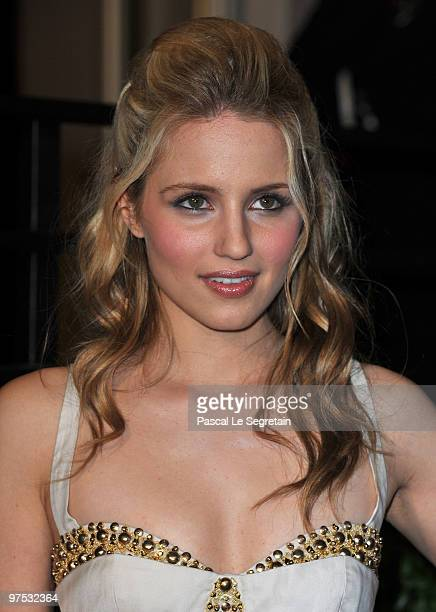 Actress Dianna Agron arrives at the 2010 Vanity Fair Oscar Party hosted by Graydon Carter held at Sunset Tower on March 7, 2010 in West Hollywood,...