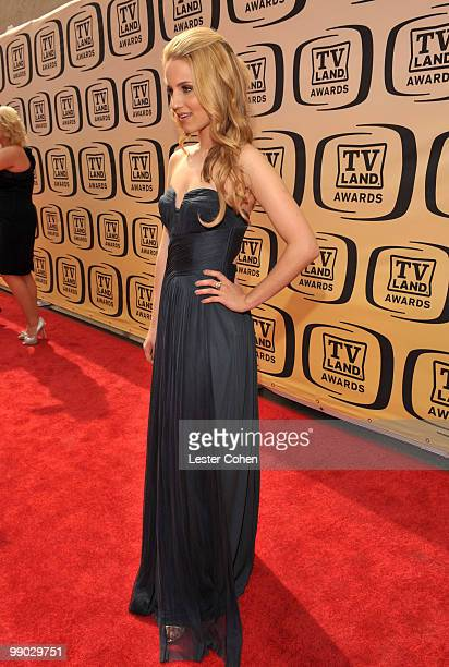 Actress Dianna Agron arrives at the 8th Annual TV Land Awards at Sony Studios on April 17 2010 in Los Angeles California