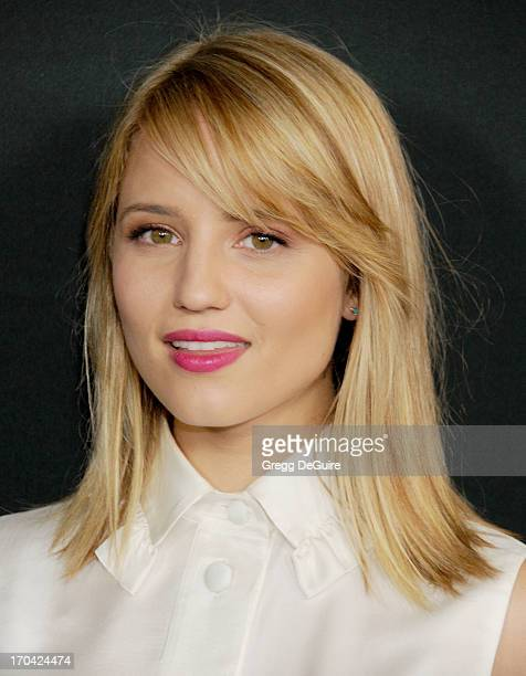 Actress Dianna Agron arrives at the Myspace event at El Rey Theatre on June 12 2013 in Los Angeles California