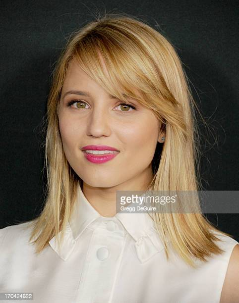 Actress Dianna Agron arrives at the Myspace event at El Rey Theatre on June 12, 2013 in Los Angeles, California.