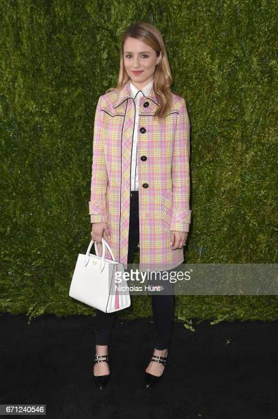 Actress Dianna Agron attends CHANEL Tribeca Film Festival Women's Filmmaker Luncheon at The Odeon on April 21 2017 in New York City