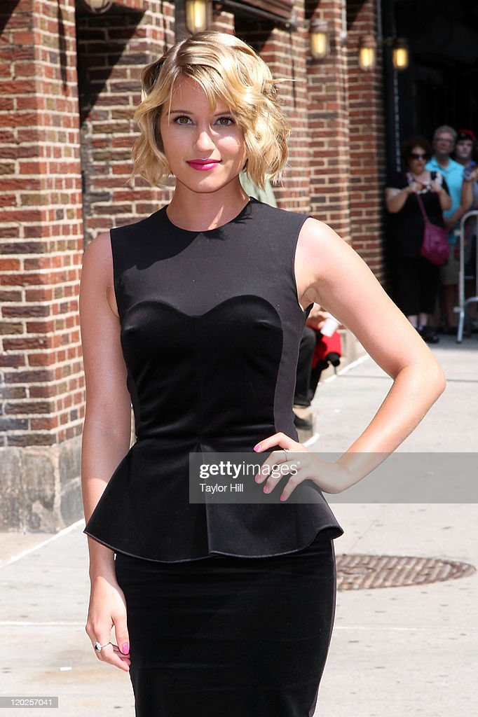 Actress Dianna Agron attends 'Late Show With David Letterman' at the Ed Sullivan Theater on August 1, 2011 in New York City.