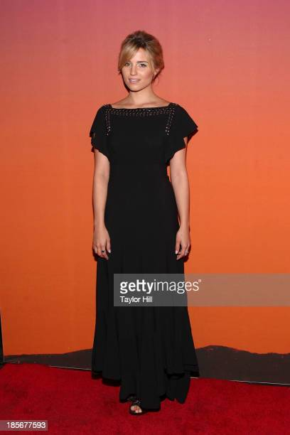 Actress Dianna Agron attends the 2013 Whitney Gala and Studio party at Skylight at Moynihan Station on October 23, 2013 in New York City.