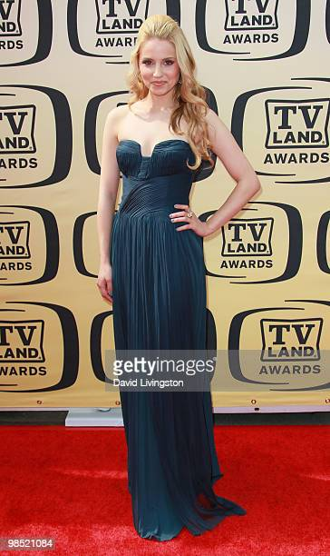 Actress Dianna Agron attends the 8th Annual TV Land Awards at Sony Studios on April 17 2010 in Culver City California