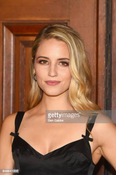 Actress Dianna Agron attends the Marc Jacobs Fashion Show during New York Fashion Week at Park Avenue Armory on September 13 2017 in New York City