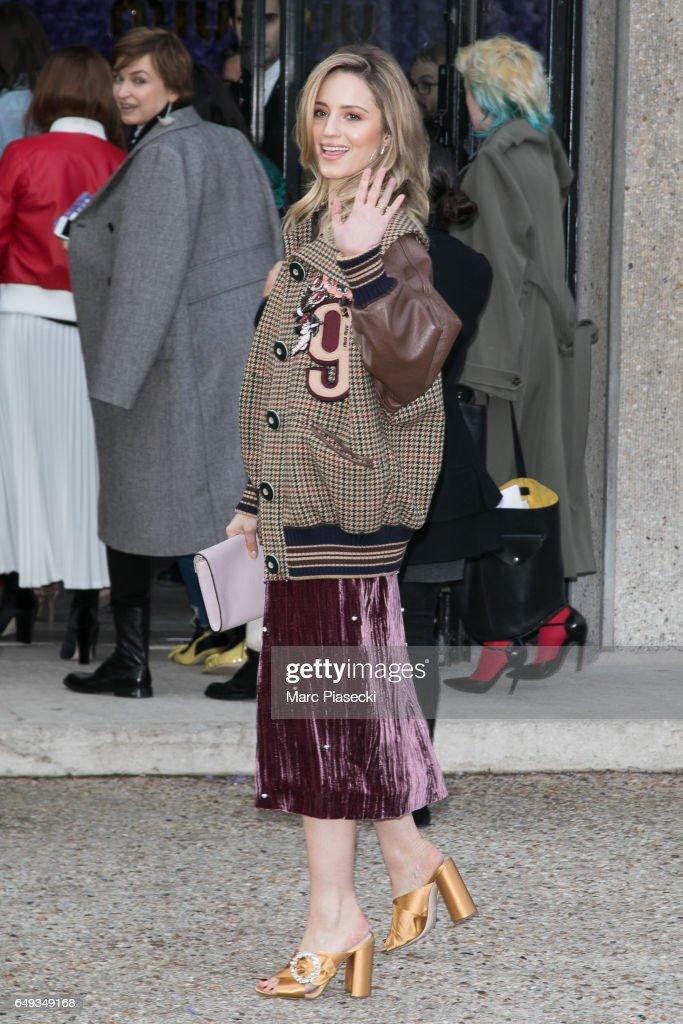 5bc84ca12d5f Miu Miu   Outside Arrivals - Paris Fashion Week Womenswear Fall Winter  2017 2018