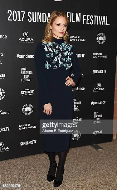 Actress Dianna Agron attends the Novitate premiere during day 2 of the 2017 Sundance Film Festival at Eccles Center Theatre on January 20 2017 in...