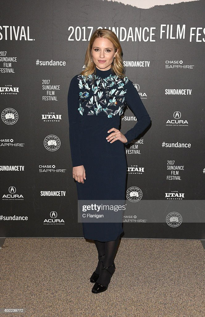 Actress Dianna Agron attends the 'Novitate' premiere during day 2 of the 2017 Sundance Film Festival at Eccles Center Theatre on January 20, 2017 in Park City, Utah.