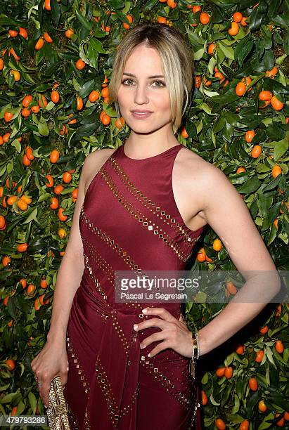 Actress Dianna Agron attends the Tory Burch Paris Flagship store opening on July 7 2015 in Paris France