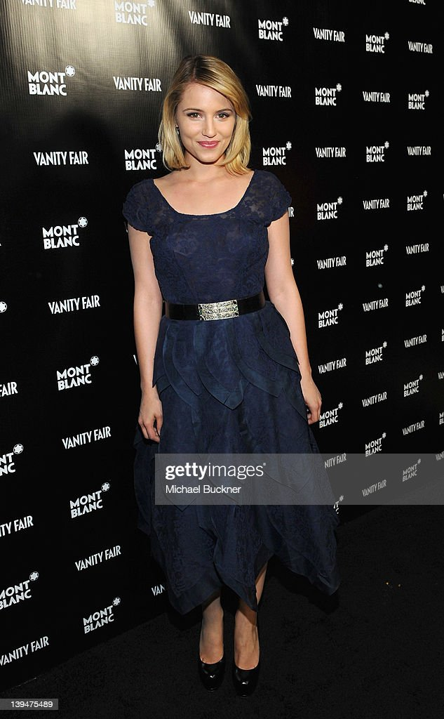 Actress Dianna Agron attends the Vanity Fair Montblanc party celebrating The Collection Princesse Grace de Monaco held at Hotel Bel-Air Los Angeles on February 21, 2012 in Los Angeles, California.