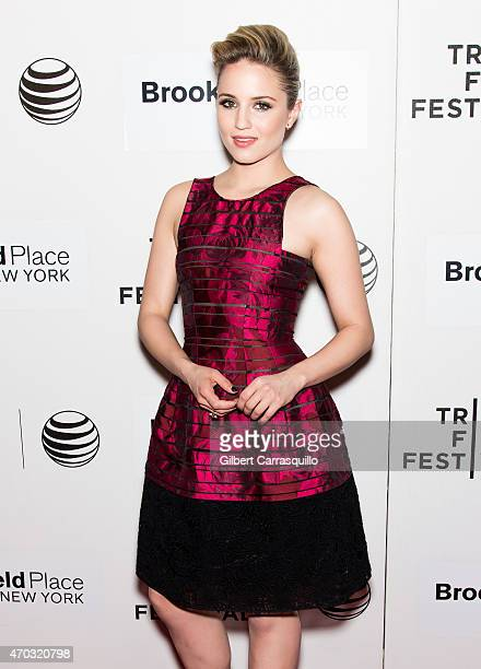 Actress Dianna Agron attends the world premiere of 'Tumbledown' during the 2015 Tribeca Film Festival at BMCC Tribeca PAC on April 18, 2015 in New...