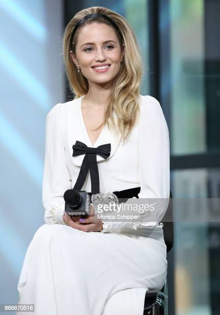 Actress Dianna Agron discusses 'Novitiate' at Build Studio on October 26 2017 in New York City