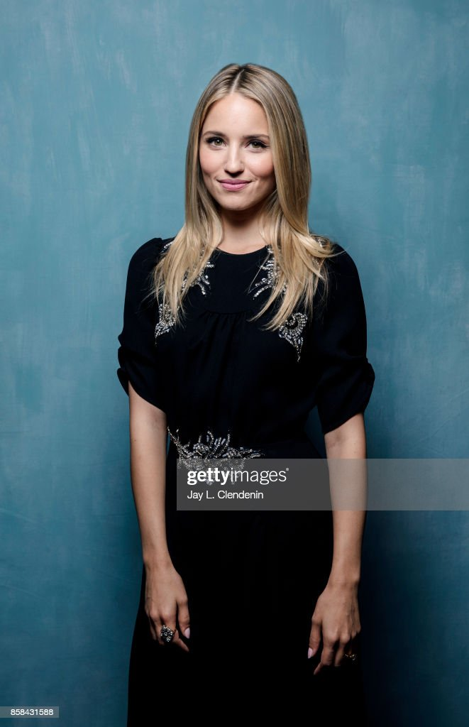 "Actress Dianna Agron, from the film ""Novitiate,"" poses for ..."