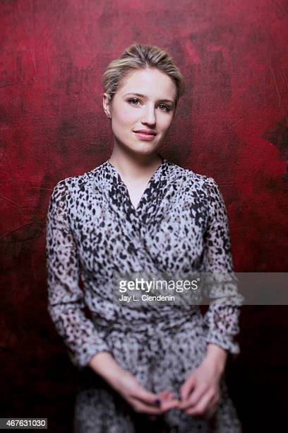 Actress Dianna Agron is photographed for Los Angeles Times at the 2015 Sundance Film Festival on January 24 2015 in Park City Utah PUBLISHED IMAGE...