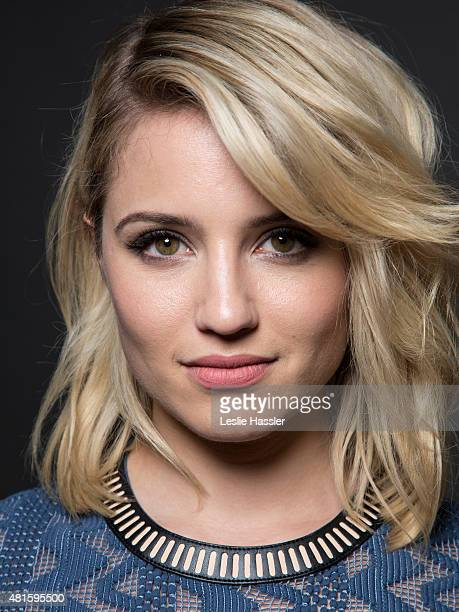 Actress Dianna Agron is photographed for Self Assignment on April 20 in New York City