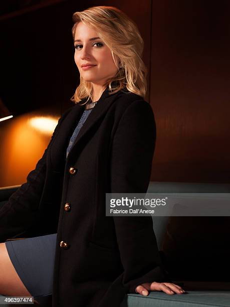 Actress Dianna Agron is photographed for Vanity Faircom on April 15 2015 in New York