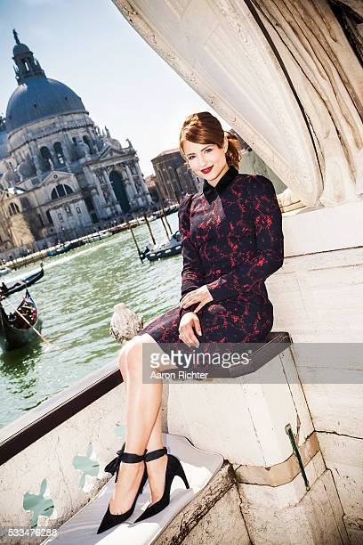 Actress Dianna Agron is photographed wearing Louis Vuitton for Glamour Magazine on April 18 2013 in Venice Italy