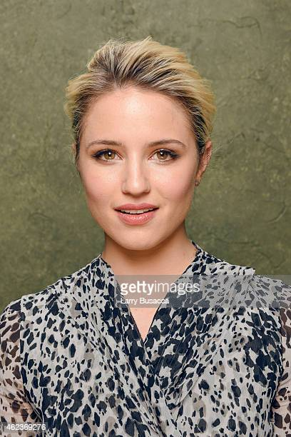Actress Dianna Agron of Zipper poses for a portrait at the Village at the Lift Presented by McDonald's McCafe during the 2015 Sundance Film Festival...
