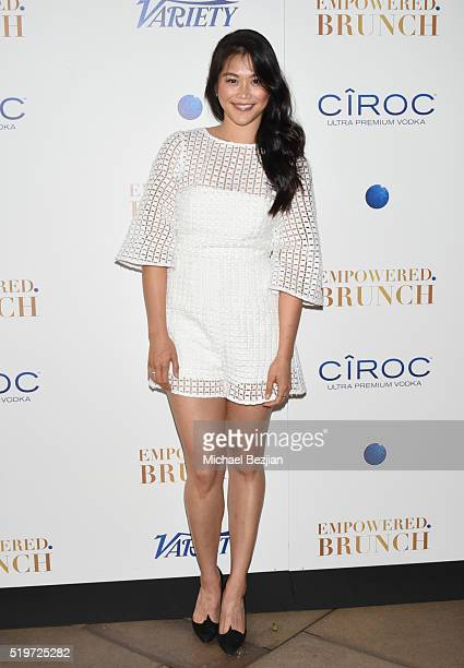 Actress Dianne Doan arrives at Empowered Brunch With Cindy Cowan at Four Seasons Hotel Los Angeles at Beverly Hills on April 7 2016 in Los Angeles...