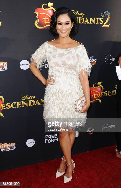 Actress Dianne Doan attends the premiere of Descendants 2 at The Cinerama Dome on July 11 2017 in Los Angeles California