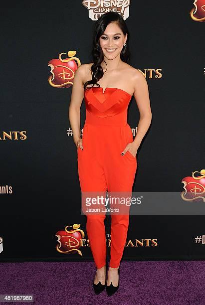 Actress Dianne Doan attends the premiere of Descendants at Walt Disney Studios Main Theater on July 24 2015 in Burbank California