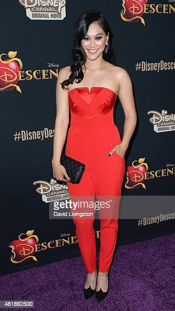 Actress Dianne Doan attends the premiere of Disney's Descendants at Walt Disney Studios main theater on July 24 2015 in Burbank California