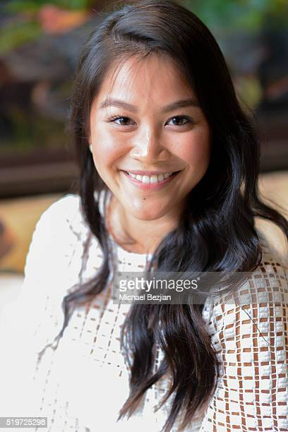 Actress Dianne Doan poses for portait at Empowered Brunch With Cindy Cowan at Four Seasons Hotel Los Angeles at Beverly Hills on April 7 2016 in Los...