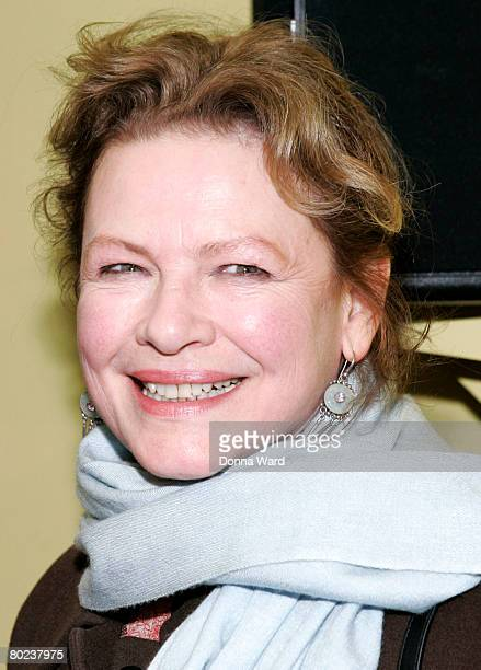 """Actress Dianne Wiest poses before attending the after-party for """"The Seagull"""" at Pangea on March 13, 2008 in New York City."""