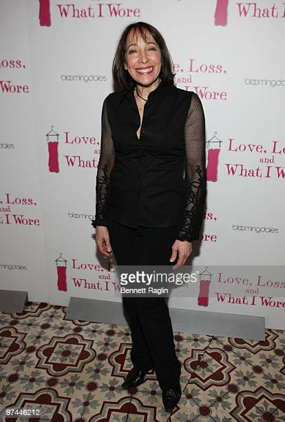 Actress Didi Conn attends the 'Love Loss and What I Wore' new cast celebration at Marseille on March 4 2010 in New York City