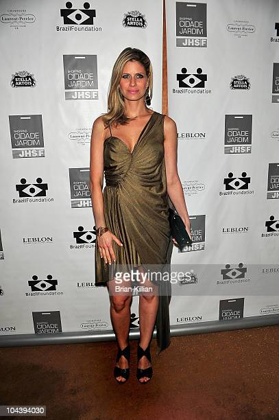 Actress Didi Wagner attends the 8th annual Brazil Foundation Gala after party at the Boom Boom Room on September 23 2010 in New York City