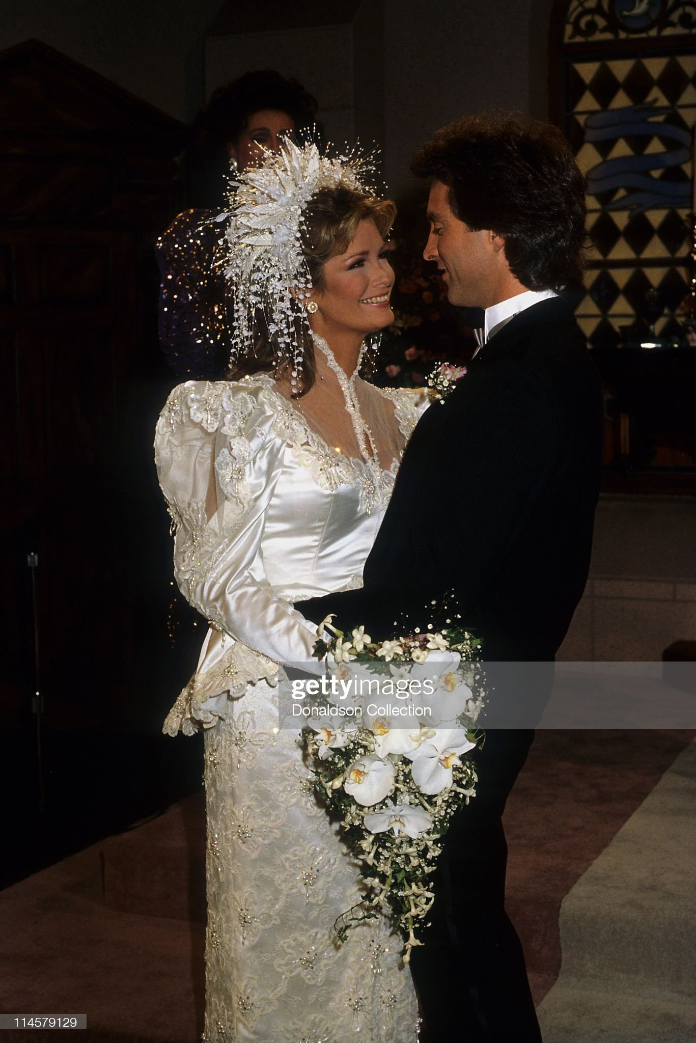 actress-dierdre-hall-and-actor-drake-hogestyn-in-days-of-our-lives-picture-id114579129