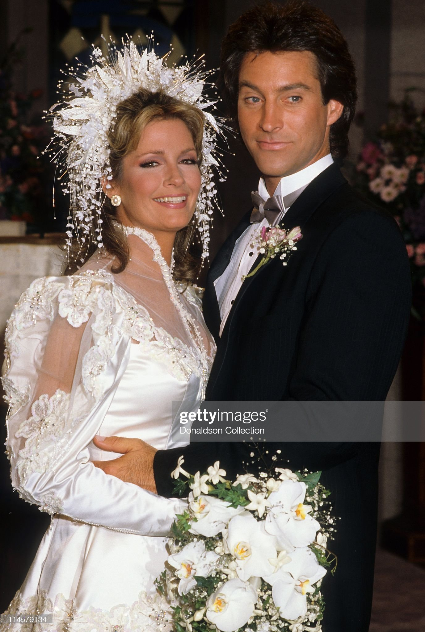 actress-dierdre-hall-and-actor-drake-hogestyn-in-days-of-our-lives-picture-id114579134