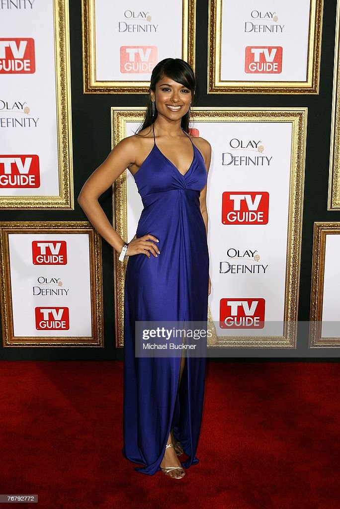 Actress Dilshad Vadsaria arrives at TV Guide's 5th Annual Emmy Party September 16, 2007 in Los Angeles.