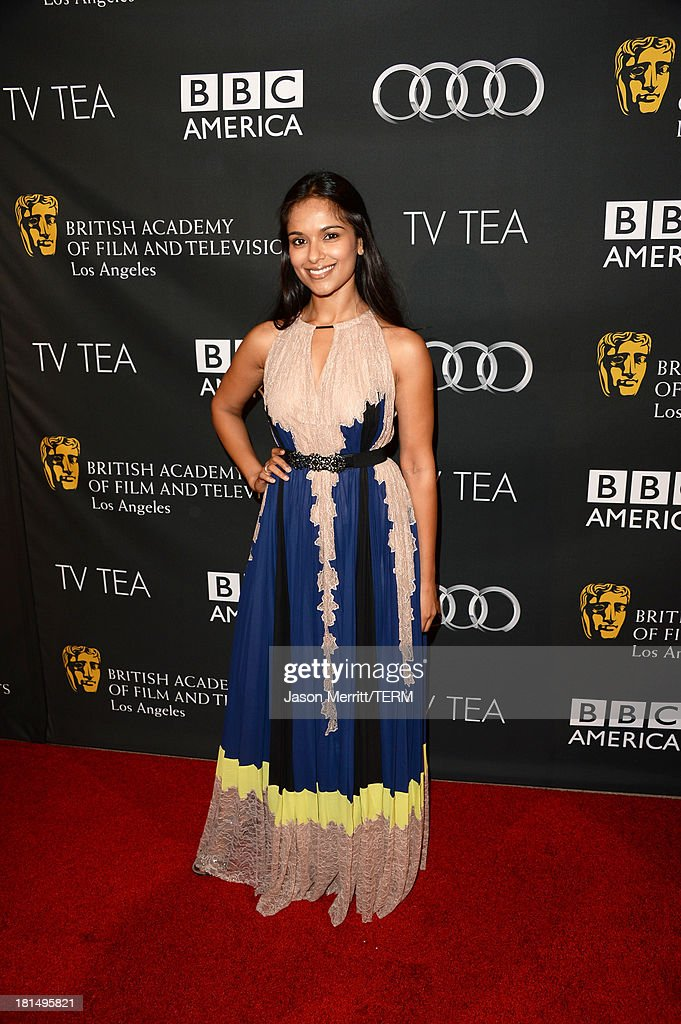 Actress Dilshad Vadsaria attends the BAFTA LA TV Tea 2013 presented by BBC America and Audi held at the SLS Hotel on September 21, 2013 in Beverly Hills, California.