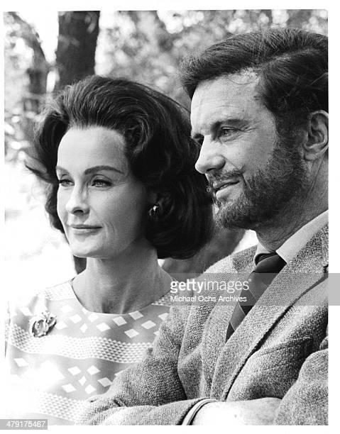 """Actress Dina Merrill and actor Cliff Robertson in a scene from the movie """"The Sunshine Patriot"""" circa 1968."""