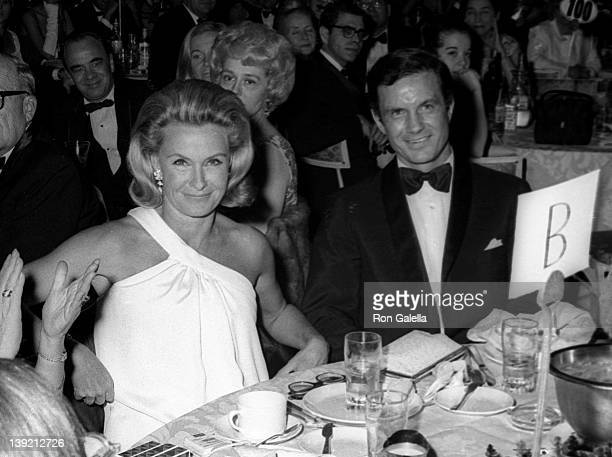 Actress Dina Merrill attends Front Page Dinner Dance on November 8 1968 at the Americana Hotel in New York City