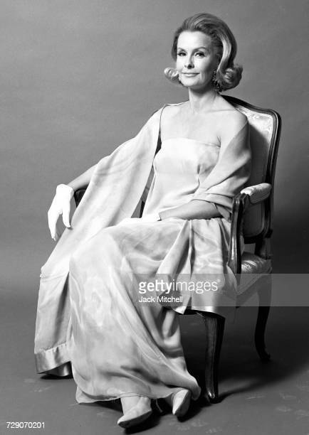 Actress Dina Merrill photographed in April 1966 Photo by Jack Mitchell/Getty Images