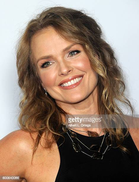 Actress Dina Meyer arrives for the Premiere Of UNBELIEVABLE held at TCL Chinese 6 Theatres on September 7 2016 in Hollywood California