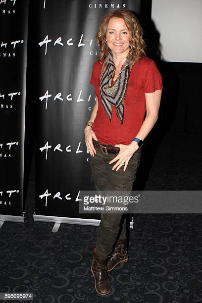 Actress Dina Meyer attends the Arclight Presents screening of Starship Troopers at ArcLight Hollywood on August 25 2016 in Hollywood California