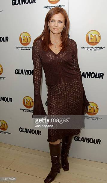 Actress Dina Meyer attends the Entertainment Tonight Celebrates the Emmy Awards with Glamour A Night of Glamour on Sunset at the Mondrian Hotel...