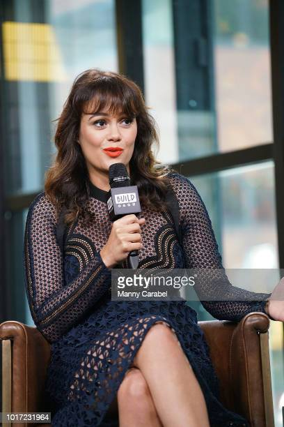 Actress Dina Shihabi visits Build Series to discuss her role in the television series Jack Ryan at Build Studio on August 15 2018 in New York City