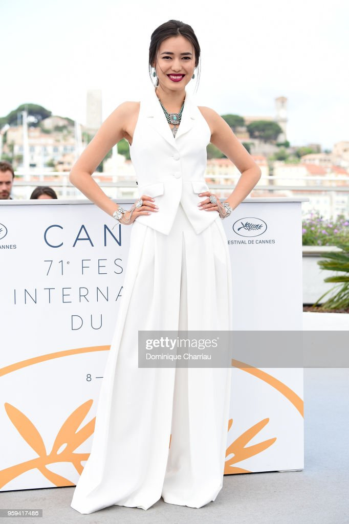 Actress Dinara Baktybaeva attends 'The Gentle Indifference Of The Word' Photocall during the 71st annual Cannes Film Festival at Palais des Festivals on May 17, 2018 in Cannes, France.