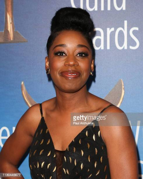 Actress Diona Reasonover attends the 2019 Writers Guild Awards LA ceremony at The Beverly Hilton Hotel on February 17 2019 in Beverly Hills California