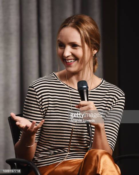 Actress director and writer Jordana Spiro attends the SAGAFTRA Foundation's The Business Screening of 'Night Comes On' at the SAGAFTRA Foundation...