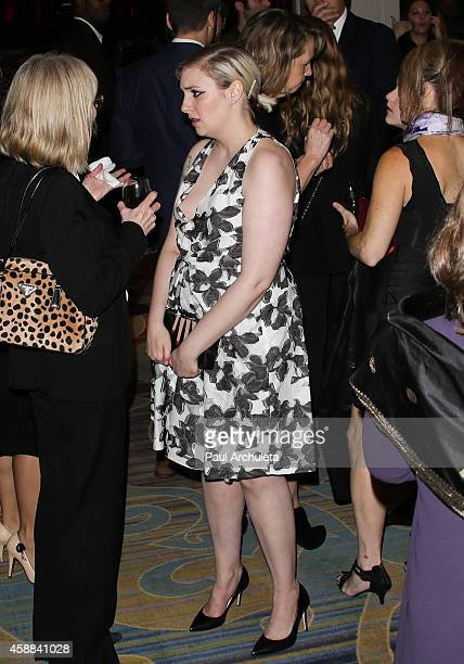 Actress / Director Lena Dunham attends Pen Center USA's 24th Annual Literary Awards Festival at the Beverly Wilshire Four Seasons Hotel on November...