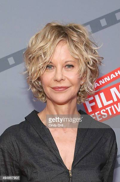 Actress director Meg Ryan attends her Lifetime Award Presentation and Ithaca screening during 18th Annual Savannah Film Festival Presented by SCAD at...