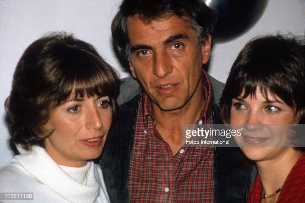 Actress director Penny Marshall actor director Gary Marshall and actress Cindy Williams attend a Laverne and Shirley party