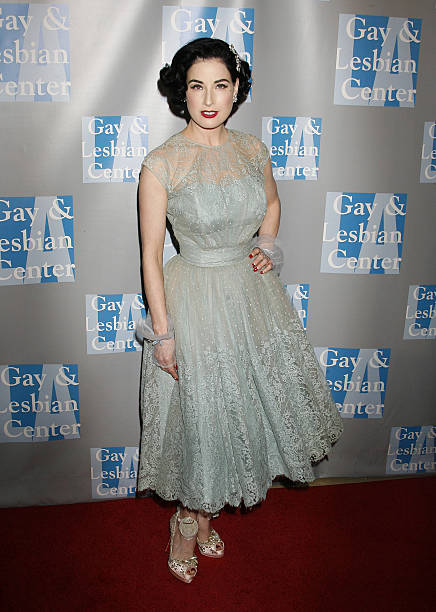 42faed7fbc7a Actress Dita Von Teese arrives at An Evening With Women  Celebrating Art