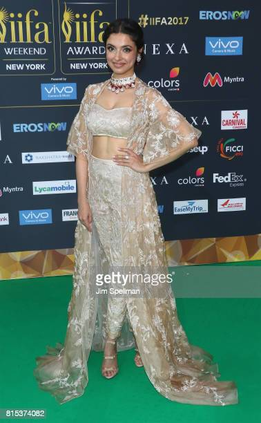 Actress Divya Khosla Kumar attends the 2017 International Indian Film Academy Festival at MetLife Stadium on July 14 2017 in East Rutherford New...