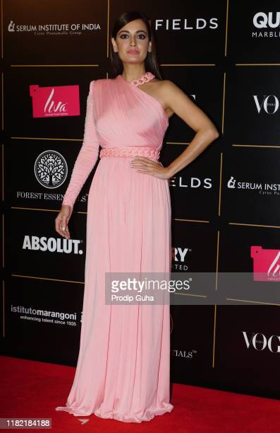 Actress Diya Mirza attend the Vogue Women of the Year on October 19 2019 in Mumbai India